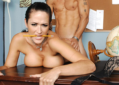 Carmella Bing & Alan Stafford in My First Sex Teacher - Centerfold