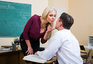Nina Elle & Brad Knight in My First Sex Teacher