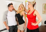 Summer Brielle & Phoenix Marie & Johnny Castle in My First Sex Teacher