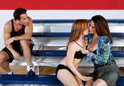 Dani Jensen & Raquel DeVine & Talon in My First Sex Teacher