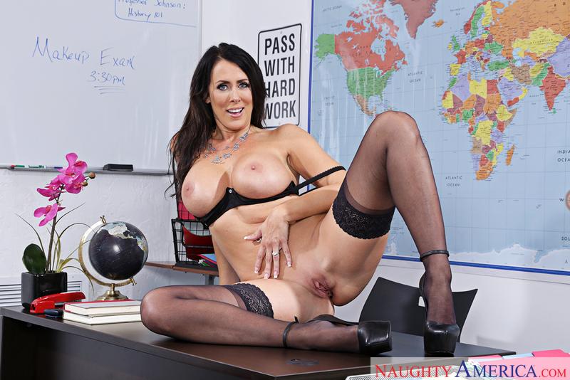 Naughtyamerica –  REAGAN FOXX & KYLE MASON Site: My First Sex Teacher