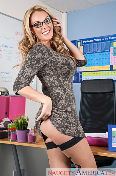 Stacey Saran - My First Sex Teacher - Naughty America