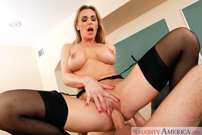Porn star Tanya Tate fucking hard