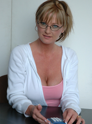 MILF & Professor Porn Video with Big Tits and Blonde scenes