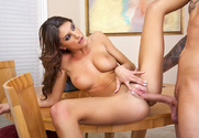 August Ames & Clover in My Sisters Hot Friend - Sex Position 2