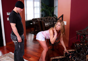 Avy Scott & Derrick Pierce in My Sister's Hot Friend story pic