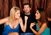 Nautica Thorn, Fayth DeLuca & Chris Cannon in My Sisters Hot Friend - Sex Position 1