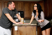 Jayden Jaymes & Alec Knight in My Sisters Hot Friend - Sex Position 1