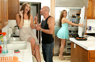 Maddy O\'Reilly, Jillian Brookes & Will Powers in My Sisters Hot Friend