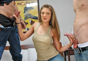 Mia Rose, Alex Gonz & Vincent Vega in My Sisters Hot Friend - Sex Position 1