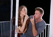 Samantha Hayes  & Levi Cash in My Sister's Hot Friend - Sex Position 1