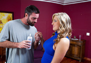 Dayna Vendetta & Charles Dera in My Wife's Hot Friend story pic