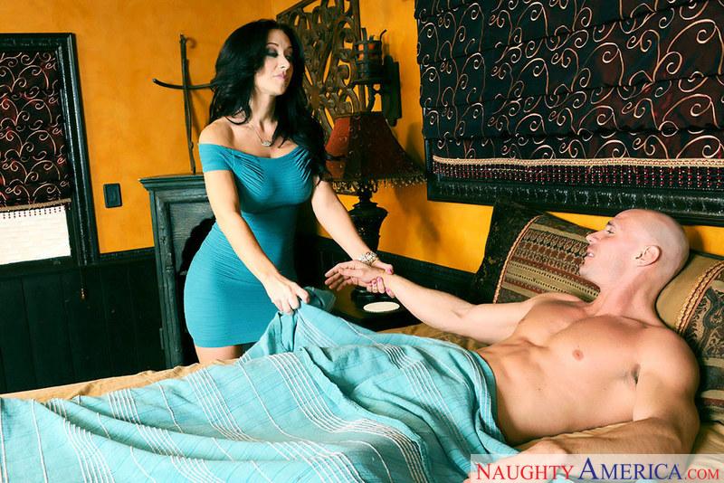 Porn star Jayden Jaymes fucking hard
