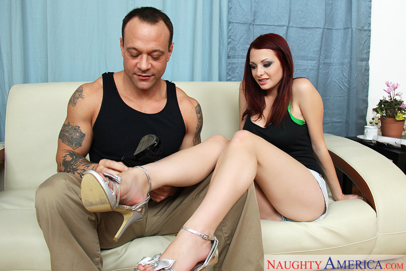 Porn star Jessica Robbin fucking hard