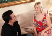 Siri & Billy Glide in My Wife's Hot Friend - Sex Position 1
