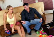 Nicole Aniston & John Strong in Neighbor Affair - Sex Position 1