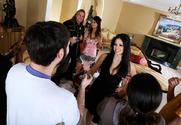 Gianna Lynn & Evie Delatosso & Evan Stone in Neighbor Affair
