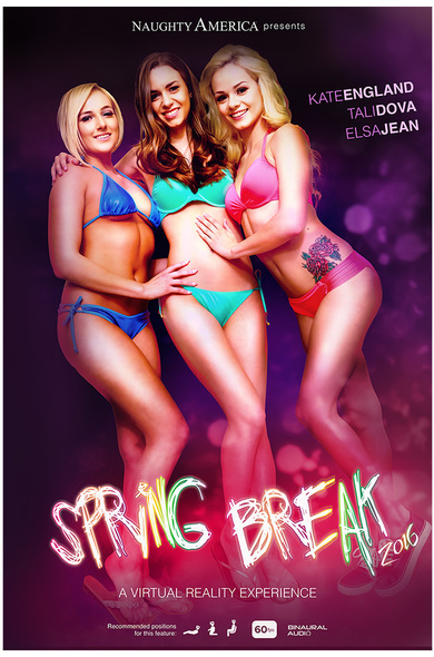 Best spring break? Fucking Kate, Elsa, and Tali in the most amazing foursome!