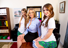 JoJo Kiss & Julia Ann & Samantha Hayes - Sex Position 1