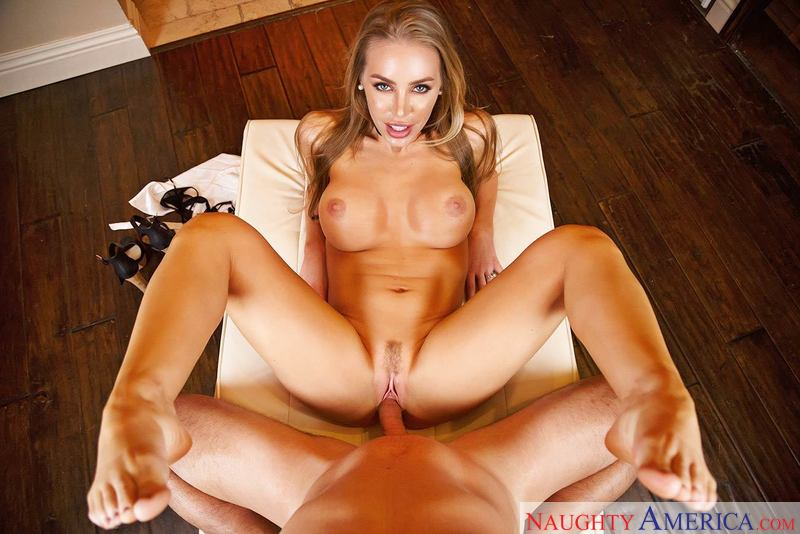 NICOLE ANISTON & RYAN DRILLER – Naughty America – Virtual Reality