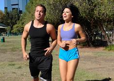 Adriana Chechik & Chad White in Naughty Athletics - Centerfold