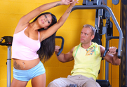 Gianna Lynn & Mario Rossi in Naughty Athletics - Sex Position 1