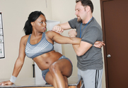 Jada Fire & Alec Knight in Naughty Athletics story pic