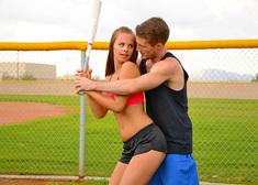 Jillian Janson & Brick Danger in Naughty Athletics - Centerfold