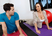 Lisa Ann & Mikey Butders in Naughty Athletics - Sex Position 1