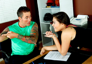 London Keyes & Dale Dabone in Naughty Athletics - Sex Position 1