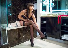 Dana DeArmond & Brick Danger in Tonight's Girlfriend - Centerfold