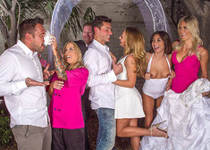 Carter Cruise & Ryan Driller in Naughty Weddings