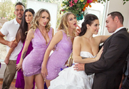 Rachel Roxxx & Tony Martinez in Naughty Weddings story pic