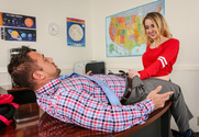 Alexia Gold  & Johnny Castle in Naughty Bookworms - Sex Position 1