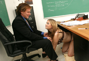 Cassandra Calogera & Evan Stone in Naughty Bookworms - Sex Position 1