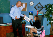Jaclyn Case & Christian in Naughty Bookworms story pic