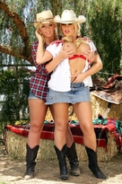 Brooke Haven & Emma Heart in Naughty Country Girls - Centerfold