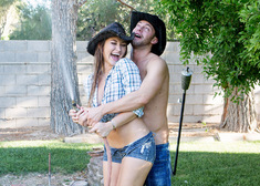 Dani Daniels & Seth Gamble in Naughty Country Girls - Centerfold