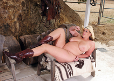 Lisa Sparxxx & Will Powers in Naughty Country Girls - Centerfold