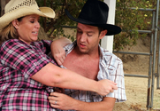 Lisa Sparxxx & Will Powers in Naughty Country Girls - Sex Position 1