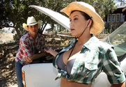 Sara Stone & Otto Bauer in Naughty Country Girls story pic