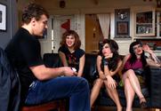 Devi Lynne & Gia Paloma & Roxy Deville & Jerry in Naughty Flipside