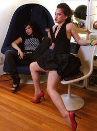 Roxy Deville, Devi Lynne & Marcos Leon in Naughty Flipside - Centerfold