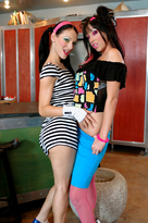 Victoria Sin & Roxy Deville in Naughty Flipside - Centerfold