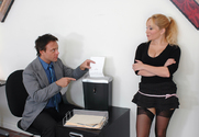 Aiden Starr & Kurt Lockwood in Naughty Office story pic