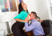 Alison Tyler & Johnny Castle in Naughty Office - Sex Position 1