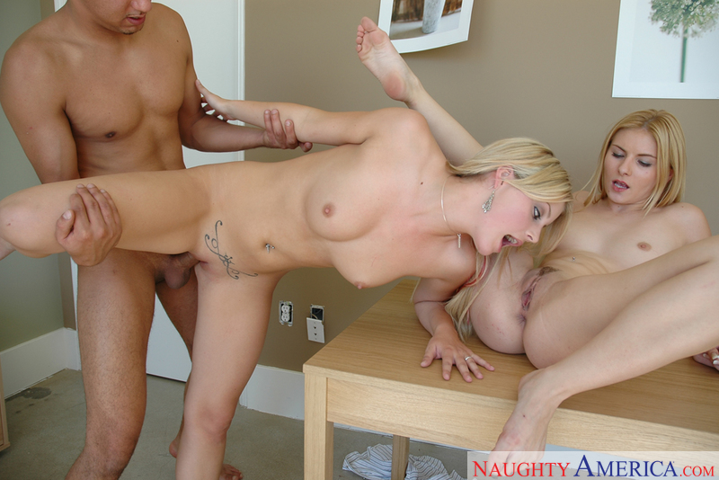 Dream among naughty office threesome always