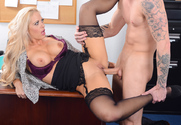 Holly Heart & Richie Black in Naughty Office - Sex Position 2