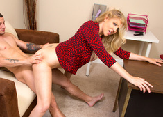 Julia Ann & Mr. Pete in Naughty Office - Centerfold