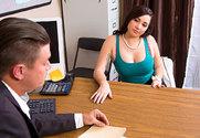 Karlee Grey & Bradley Remington in Naughty Office - Sex Position 1